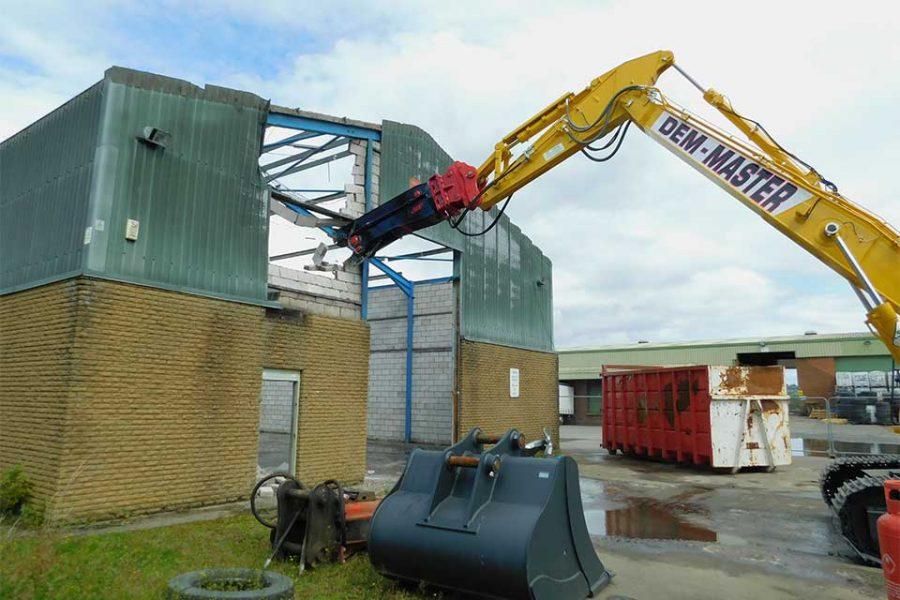 Barrell Store Armadale West Lothian Dem Master Demolition